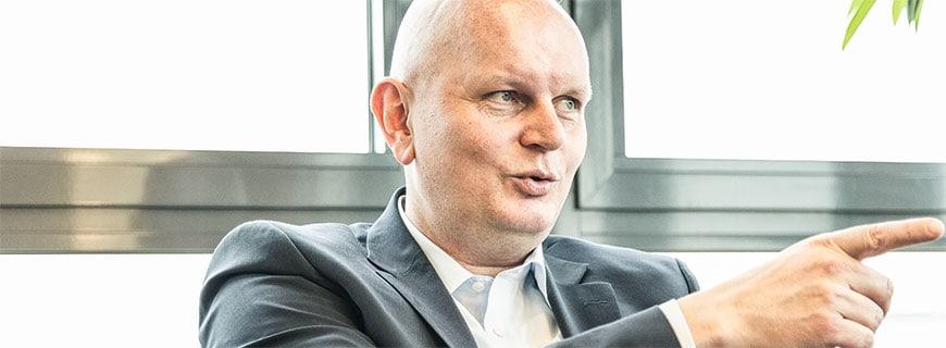 Olaf Koch, Metro-CEO, im Gespräch