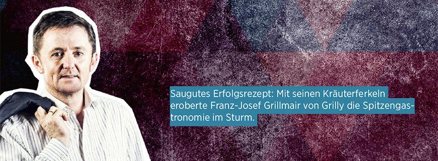Porträt von Franz-Josef Grillmair, Chef von Grilly