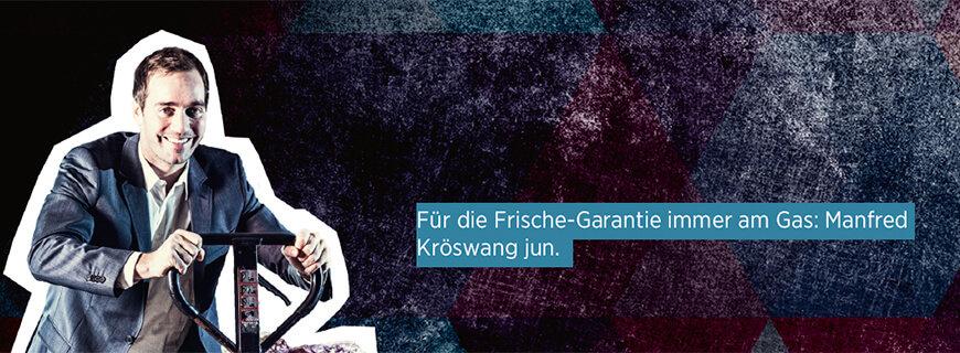 Porträt von Manfred Kröswang jun. vom Unternehmen Kröswang.