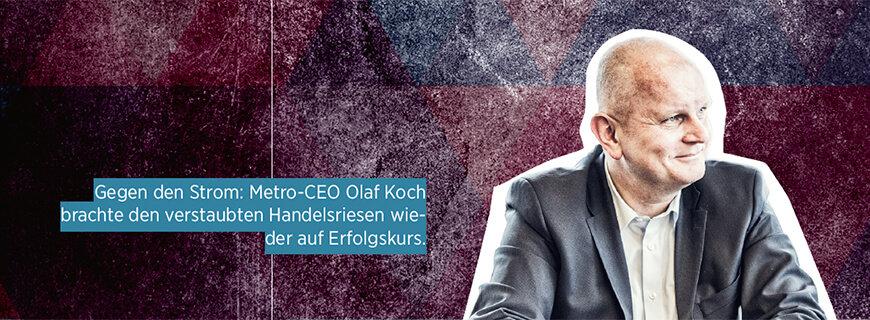 Porträt von Metro-CEO Olaf Koch