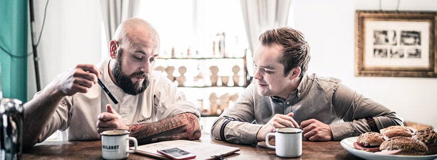 Die zwei Macher hinter Marc & Philipp denken über weitere Rezepturen nach
