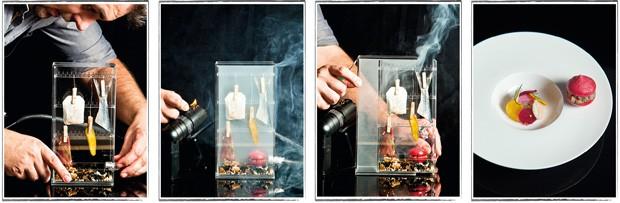Räuchern mit einer Smoking Gun