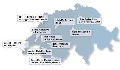 Hotelfachschulen in der Schweiz