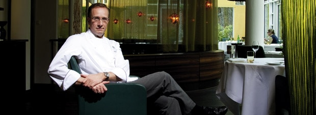 Nils Henkel im Gourmetrestaurant Lerbach
