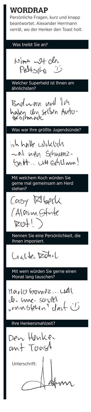 Wordrap mit Herrmann