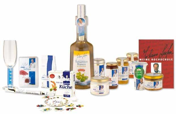 Johann Lafers Produktlinie