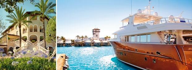 Villen und Yachten auf Mallorca