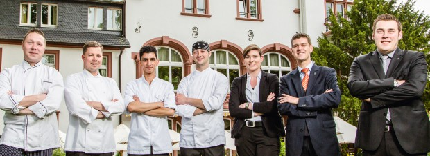 Sebastian Lühr und die Crew