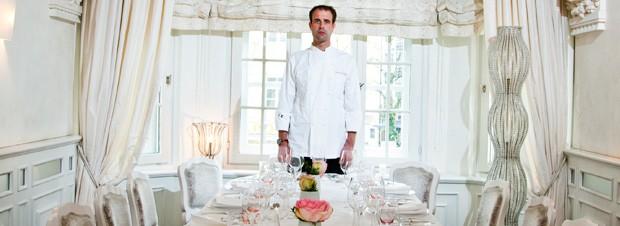 Volker Eisenmann im Restaurant