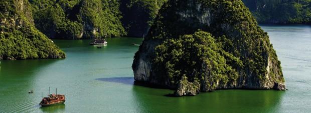prächtige Landschaft Vietnams