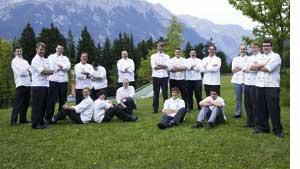 Team des Interalpen-Hotel Tyrol