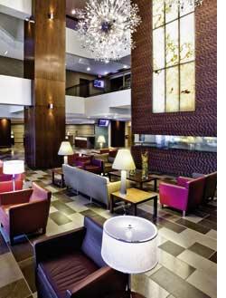 das Foyer des ATLIFIC HOTELS