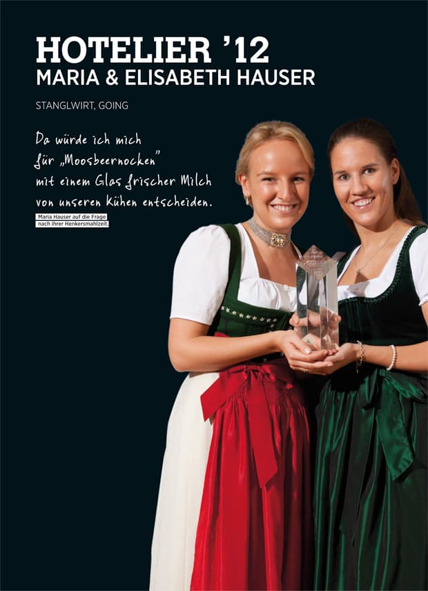 Maria und Elisabeth Hauser Hotelier 12