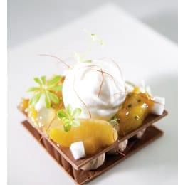 Tanarivaschokolade Kokosnuss und Nektarine