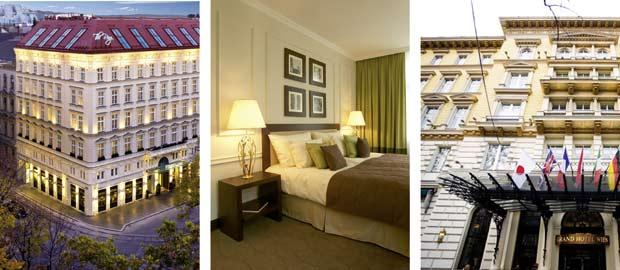 Eindrücke des Grand Hotel in Wien