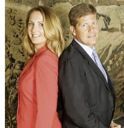 Martina und Karl Hohenlohe