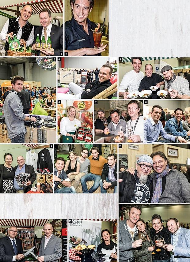 eine Collage der Chefdays Highlights