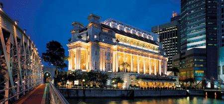 ein Hotel am Hafen in Singapur