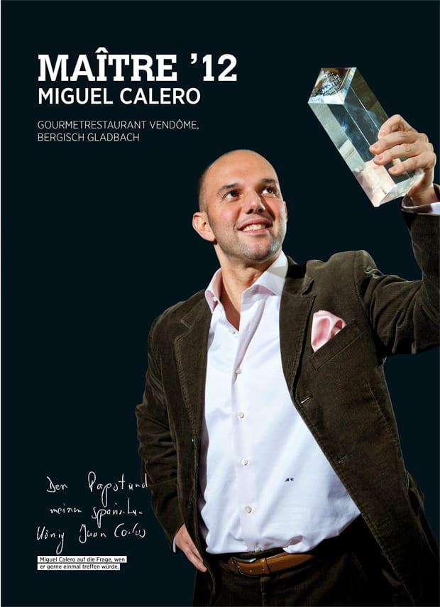 Miguel Calero Maitre 12