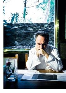 Ferran Adrià nachdenklich und in sich gekehrt