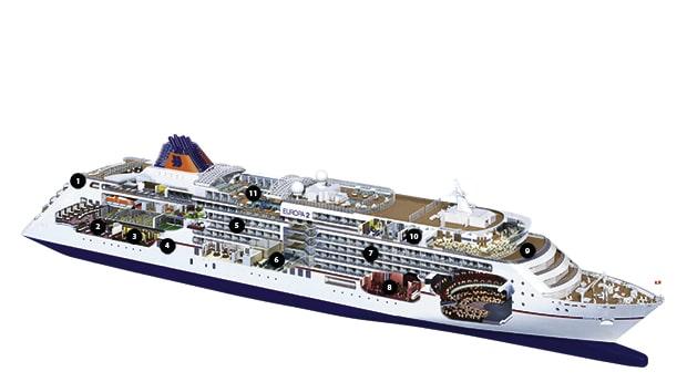 ein Passagierschiff