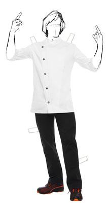 Rock-Chef-Jacke