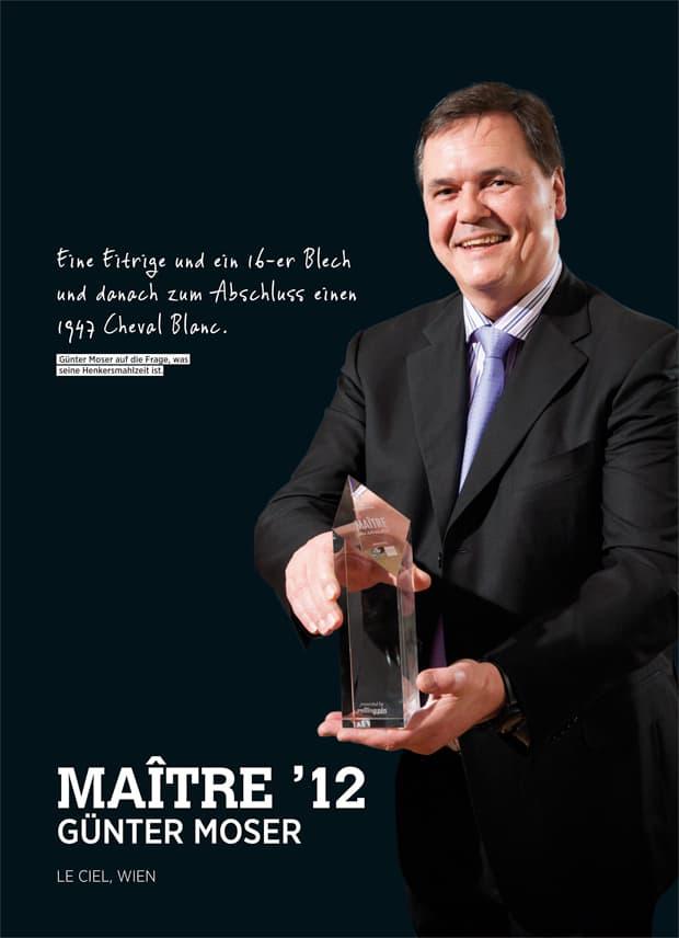 Günter Moser Maitre 12