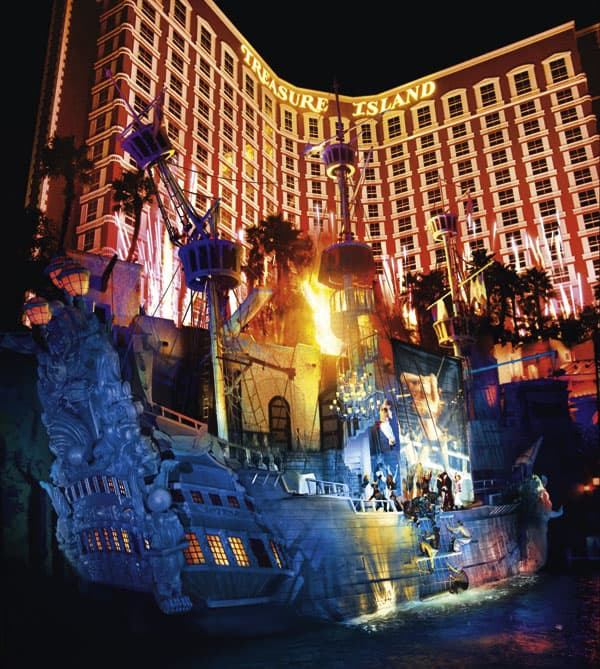 Treasure Island Hotel in Las Vegas