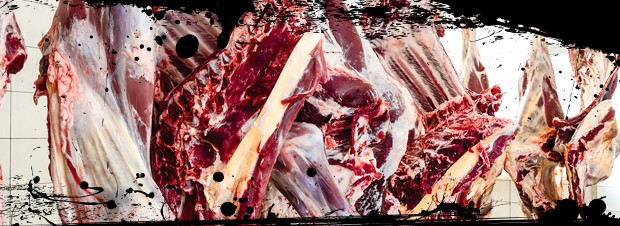 Heissluftdaempfer für Fleisch