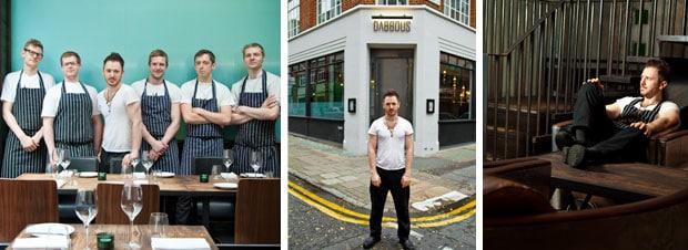 Ollie Dabbous,  der It-Boy der Londoner Restaurant-Szene