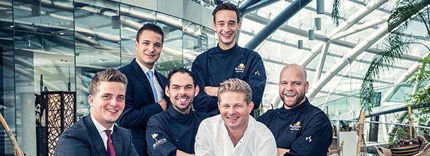 Martin Klein und sein Team