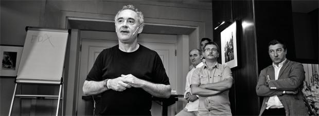 Ferran Adrià zieht sein Publikum in seinen Bann