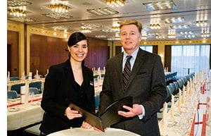Führungskräfte des Steigenberger Hotels