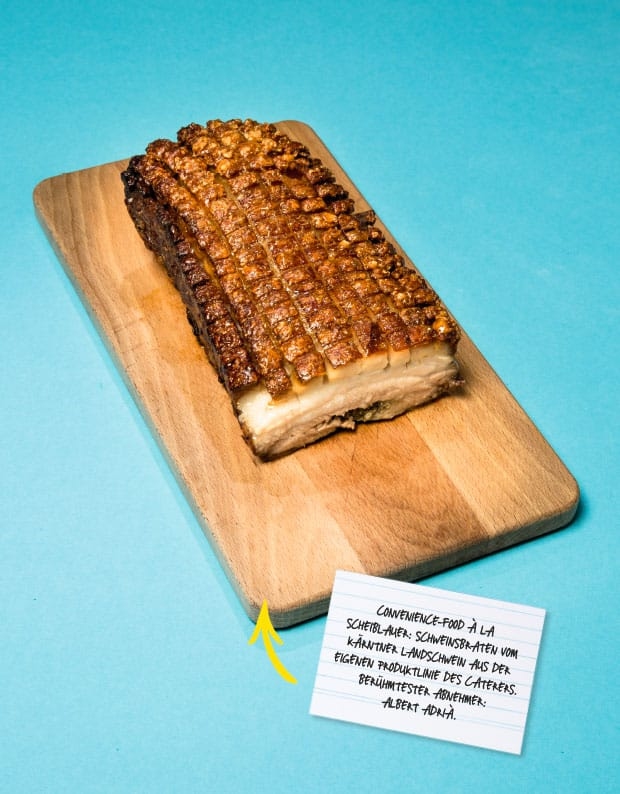 Convenience-Produkte a la Schweinsbraten