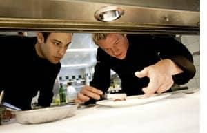 Silvio Nickol gibt Gas in der Küche