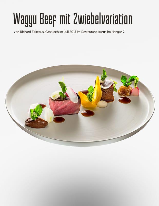 Wagyu Beef mit Zwiebeln von Richard Ekkebus