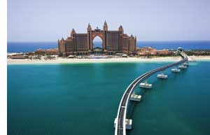 das Luxusresort Atlantis, The Palm