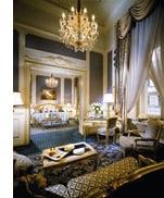 luxuriöse Hotelsuite der Promis