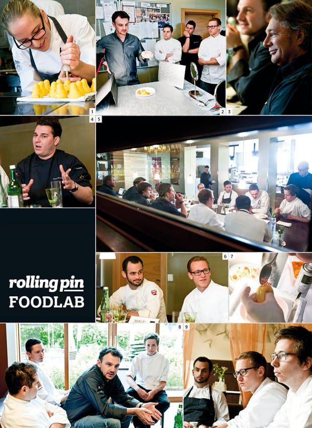 Collage vom Foodlab von Rolling Pin