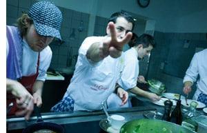 Ali Güngörmüs gibt Gas in der Küche