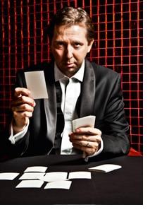 Heinz Reitbauer beim Pokern