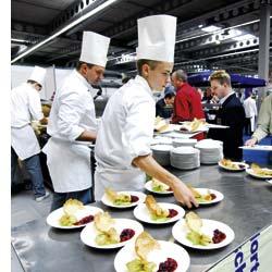 Nervenflattern und höchster Einsatz herrschen bei der Kocholympiade in Erfurt