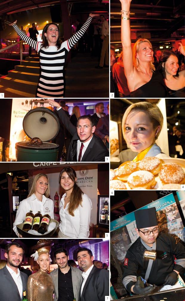 Erfolgsrezept der Gastro Premium Night 2012 in Salzburg