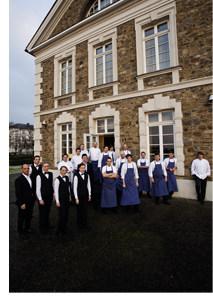 Gourmetrestaurant Vendôme und das dazugehörige Küchenpersonal
