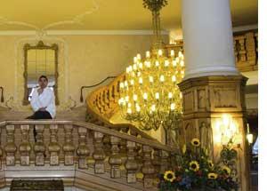Christoph Zangerl im Interalpen-Hotel-Tyrol