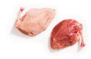 Wachtelfleisch