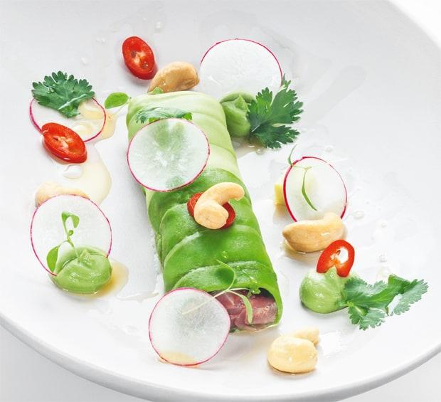 Avocado-Thunfisch-Röllchen