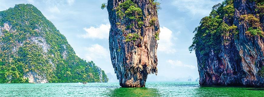 Die thailändische Insel Phuket