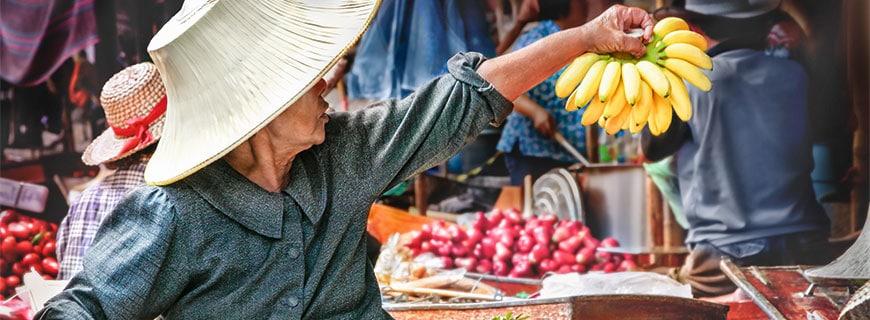 ein Markt auf Phuket
