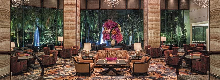 Nur eines von vielen Luxushotels: das Makati Shangri-La in Manila.